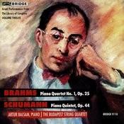 Brahms And Schumann Recital Songs