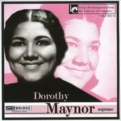 Dorothy Maynor In Concert Songs