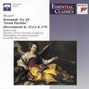 Mozart: Serenade; Divertimenti; Fantasie; Adagio And Allegro Songs