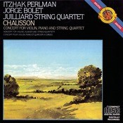 Chausson: Concert for Violin, Piano & String Quartet in D Major, Op. 21 Songs
