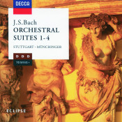 J S Bach Orchestral Suites Nos 1 4 Songs