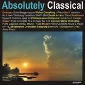 Debussy: Suite Bergamasque/Mozart: Flute Concerto No. 2/Mozart: Piano Concerto No. 22, Et Al. Songs
