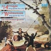 J.C. Arriaga/ J. Wikmanson String Quartets Songs