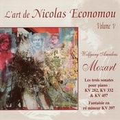 Mozart : L'art de Nicolas Economou, volume 5 Songs