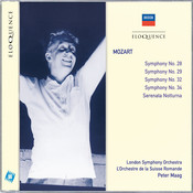 Mozart: Symphonies Nos.28, 29, 34 & 32; Serenata Notturna Songs
