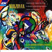 Mirzoyan: Symphony for Timpani and Strings; Theme and Variations; Poem Epitaph Songs