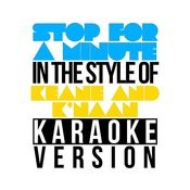 Stop For A Minute (In The Style Of Keane & K'naan) [Karaoke Version] - Single Songs