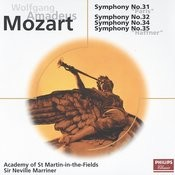 Mozart: Symphonies Nos.31,32,34 & 35 Songs