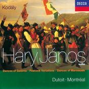 Kodály: Háry János Suite/Dances of Marosszék/Peacock Variations/Galanta Songs