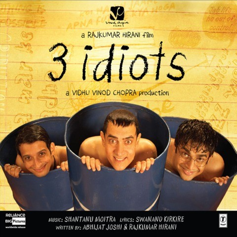 3 Idiots Songs Download: 3 Idiots MP3 Songs Online Free on Gaana.com