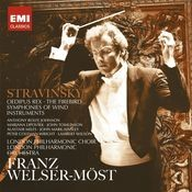 Stravinsky: Oedipus Rex, Firebird & Symphonies of Wind Instruments Songs