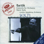 Bartók: Concerto for Orchestra; Dance Suite; The Miraculous Mandarin Songs