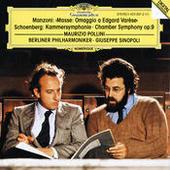 Manzoni: Masse: Omaggio a Edgard Varèse / Schoenberg: Kammersymphonie op.9 Songs