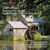 Mso Live - Copland: Appalachian Spring & Eight Poems Of Emily Dickinson Songs