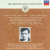 Britten Rarities Songs