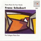 Schubert: Piano Music For 4 Hands Songs