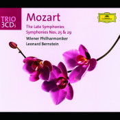 Mozart The Late Symphonies Symphonies Nos 25 Songs