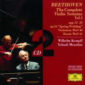 Beethoven The Complete Violin Sonatas Vol I Songs