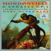 Mondonville 6 Sonates Op 3 Songs
