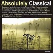 Glazoenov: Violin Concerto in A Minor/Mozart: Sinfonia Cencertante in E Major, Et Al. Songs