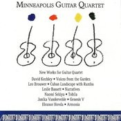 New Works for Guitar Quartet Songs