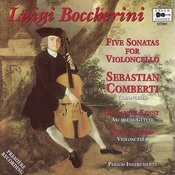Boccherini: 5 Sonatas for Violoncello Songs
