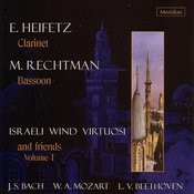Bach/Mozart/Beethoven: Israeli Wind Virtuosi And Friends Volume 1 Songs
