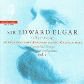 Elgar: Complete Songs For Voice And Piano, Vol. 1 Songs