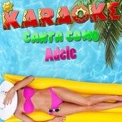 Karaoke Canta Como Adele Songs