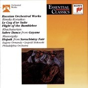 Russian Orchestral Works Songs