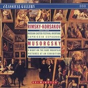 Rimsky-Korsakov: Russian Easter Festival, Capriccio Espagnol - Mussorgsky: Night On Bald Mountain, Pictures At An Exhibition Songs