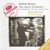 Strauss, R.: Also sprach Zarathustra; Salomes Tanz; Don Juan; Till Eulenspiegel Songs