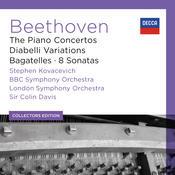 Beethoven: The Piano Concertos; Diabelli Variations; Bagatelles; 8 Sonatas (6) Songs