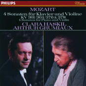 Mozart 4 Violin Sonatas For Piano And Violin Nos 18 21 24 Songs