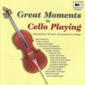 Great Moments in Cello Playing Songs