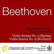 Ludwig Van Beethoven, Sonata For Piano And Violin Op. 24 'spring' In F Songs