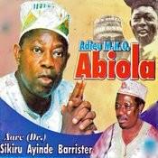 Adieu M.K.O. Abiola Songs