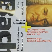 Bach: Complete Sonatas For Harpsichord And Violin Songs