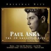 Paul Anka. The 20 Greatest Hits Songs