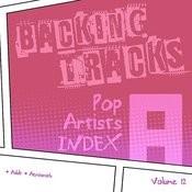 Backing Tracks / Pop Artists Index, A, (Adult / Aerosmith), Volume 12 Songs