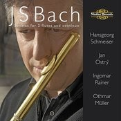 Bach: Sonatas For 2 Flutes And Continuo Songs