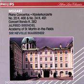 Mozart: Piano Concertos Nos. 20 & 24; Concert Rondo, K.382 Songs