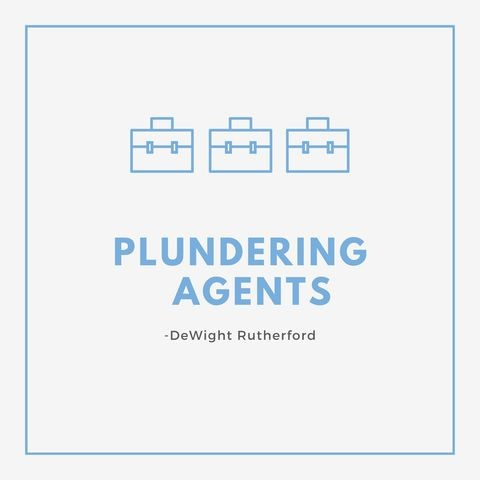 Plundering Agents