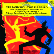 Stravinsky: L'Oiseau de Feu; Feu d'artifice; Quatre Etudes pour orchestre Songs