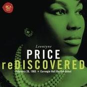 Leontyne Price - Carnegie Hall Recital Debut Songs
