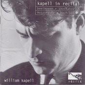 Kapell In Recital: Beethoven, Shostakovich, Mussorgsky, Bach/Busoni Songs