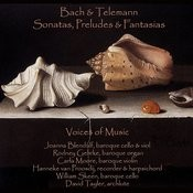 Bach And Telemann - Sonatas, Preludes And Fantasias Songs