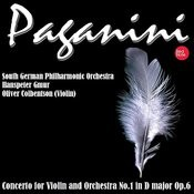 Paganini: Concerto For Violin And Orchestra No.1 In D Major Op.6 Songs
