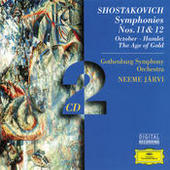 Shostakovich: Symphonies Nos. 11 & 12; October; Hamlet; The Age of Gold Songs