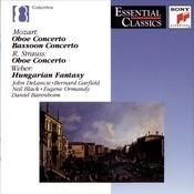 Mozart/Strauss/Weber: Oboe Concertos; Bassoon Concerto; Andante E Rondo Songs